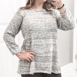 3/$20 Sonoma Pullover Sweater Size XL Gray Knit